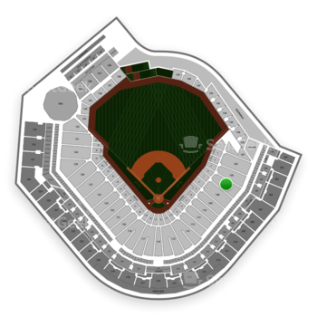 Pittsburgh Pirates at PNC Park Section 107 View