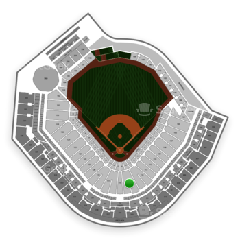 Pittsburgh Pirates at PNC Park Section 115 View
