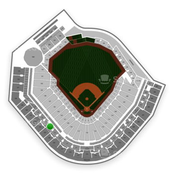 Pittsburgh Pirates at PNC Park Section 222 View