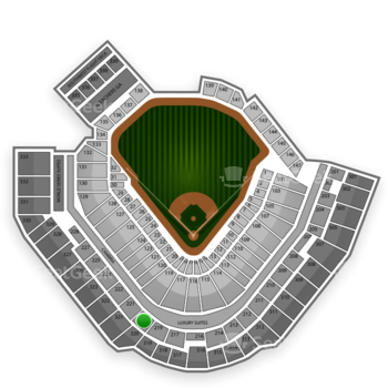 Pittsburgh Pirates at PNC Park Section 220 View