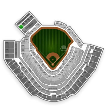 Pittsburgh Pirates at PNC Park Section 335 View