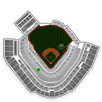 Pittsburgh Pirates at PNC Park Section 121 View