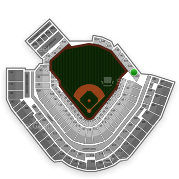 Pittsburgh Pirates at PNC Park Section 146 View