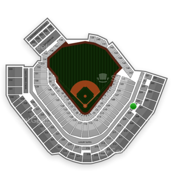 Pittsburgh Pirates at PNC Park Section 207 View