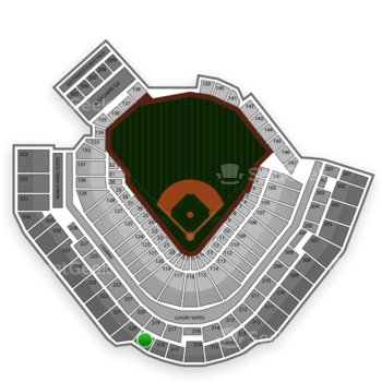 Pittsburgh Pirates at PNC Park Section 319 View