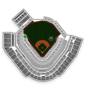 Pittsburgh Pirates at PNC Park Section 32 View