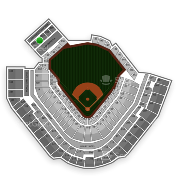 Pittsburgh Pirates at PNC Park Section 336 View