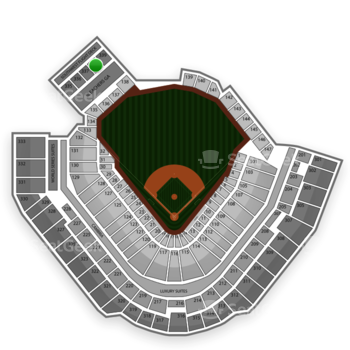 Pittsburgh Pirates at PNC Park Section 338 View