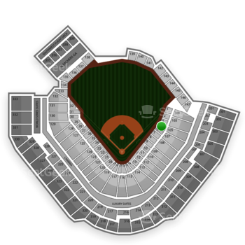 Pittsburgh Pirates at PNC Park Section 5 View