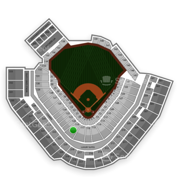 Pittsburgh Pirates at PNC Park Section 119 View
