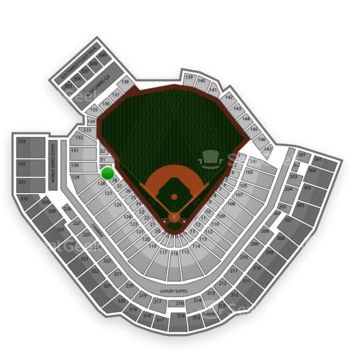 Pittsburgh Pirates at PNC Park Section 29 View