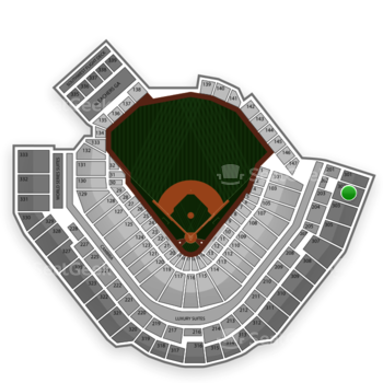 Pittsburgh Pirates at PNC Park Section 302 View