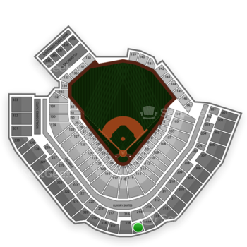 Pittsburgh Pirates at PNC Park Section 315 View