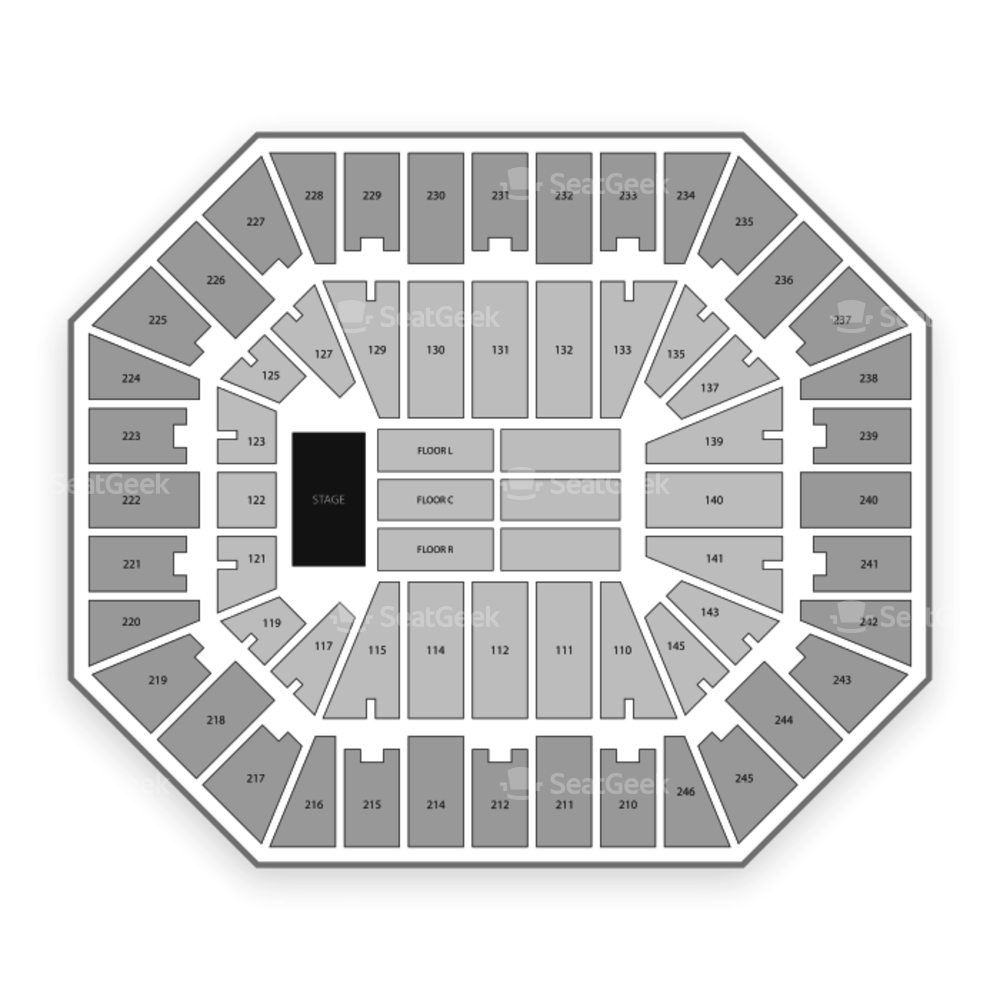 Charleston Civic Center Seating Chart Concert