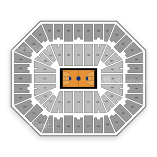 Charleston Civic Center Seating Chart NCAA Basketball
