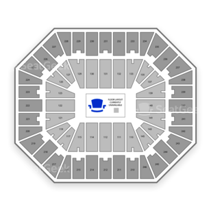 SEC Tournament Seating Chart