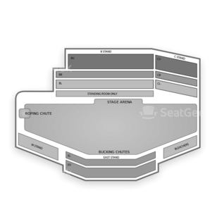 Cheyenne Frontier Days Seating Chart Concert