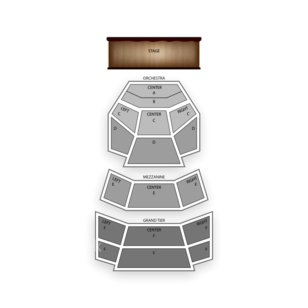 Cobb Energy Performing Arts Centre Seating Chart Dance Performance Tour