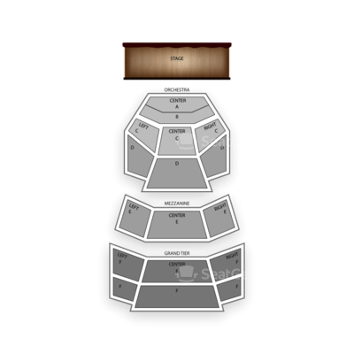 Cobb Energy Performing Arts Centre seating chart Atlanta Ballet