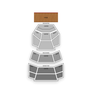 Cobb Energy Performing Arts Centre Seating Chart Concert