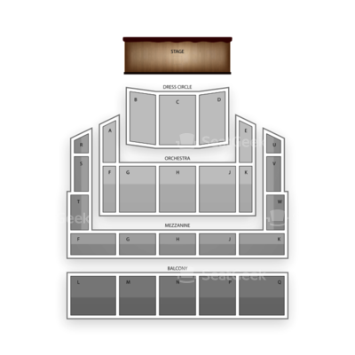 Raleigh Memorial Auditorium seating chart Peter and the Starcatcher