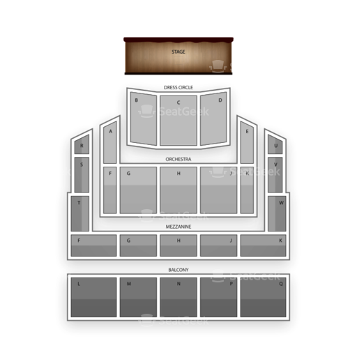 Raleigh Memorial Auditorium Seating Chart Family