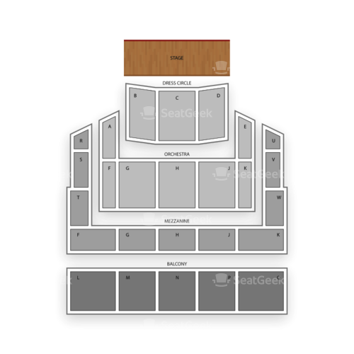 Duke Energy Center for the Performing Arts Seating Chart Concert