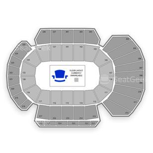 Stockton Arena Seating Chart Theater