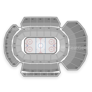 Stockton Thunder Seating Chart