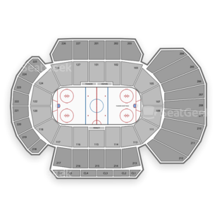 Stockton Arena Seating Chart Minor League Hockey