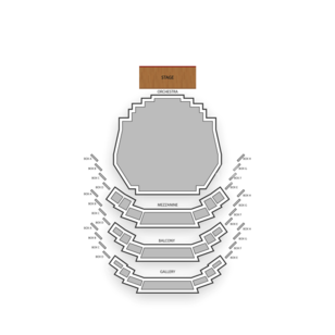 Carol Morsani Hall Seating Chart Theater