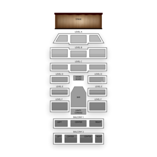 Boulder Theater Seating Chart Concert