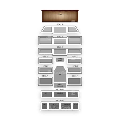 Boulder Theater Seating Chart