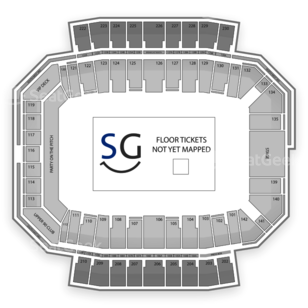 MAPFRE Stadium Seating Chart Concert