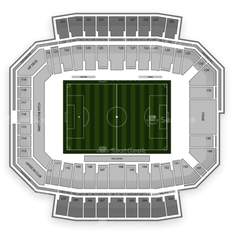 Columbus Crew Stadium seating chart Columbus Crew