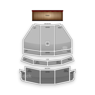The Capitol Theatre Seating Chart Comedy