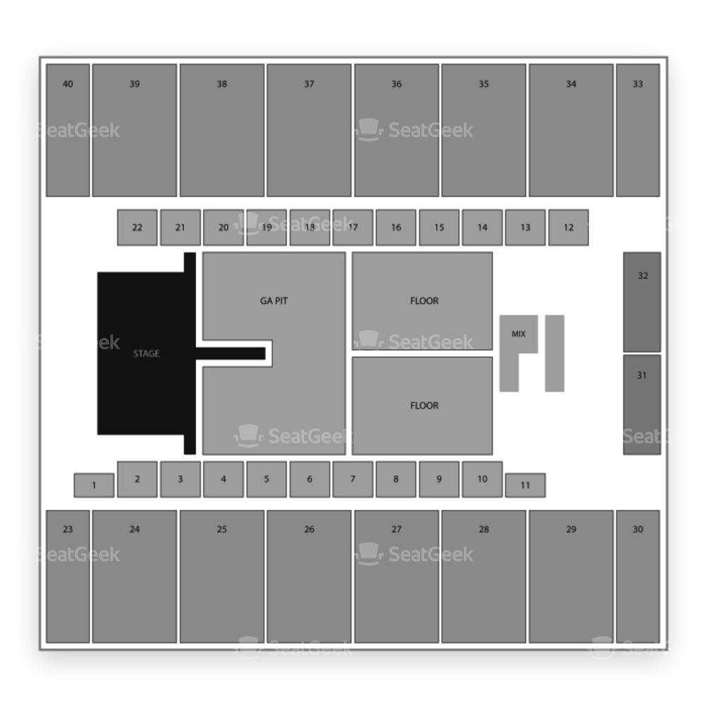 El Paso County Coliseum Seating Chart Family
