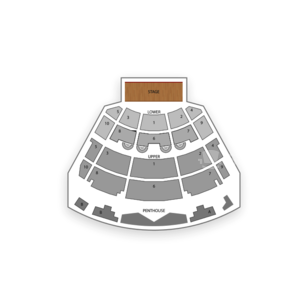 Harrah's Resort Seating Chart Concert