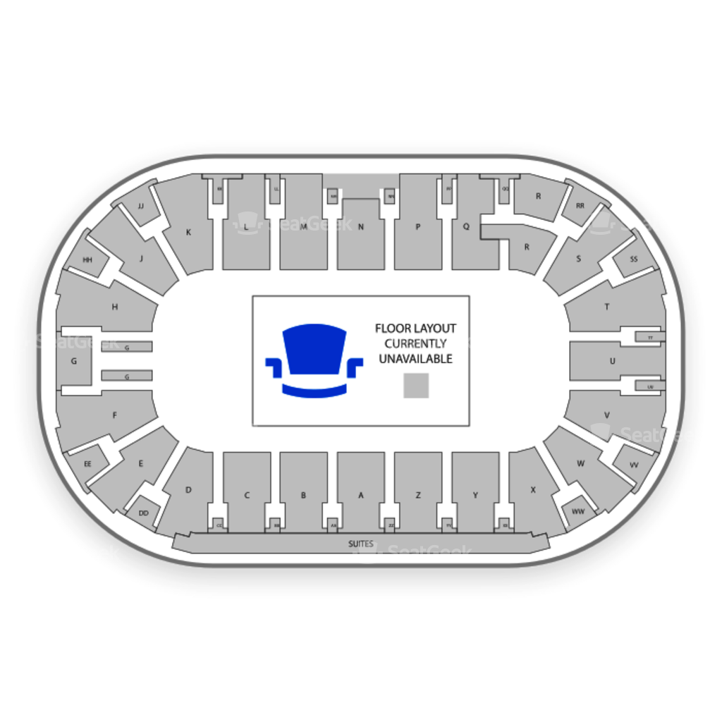 Toyota center seating chart family