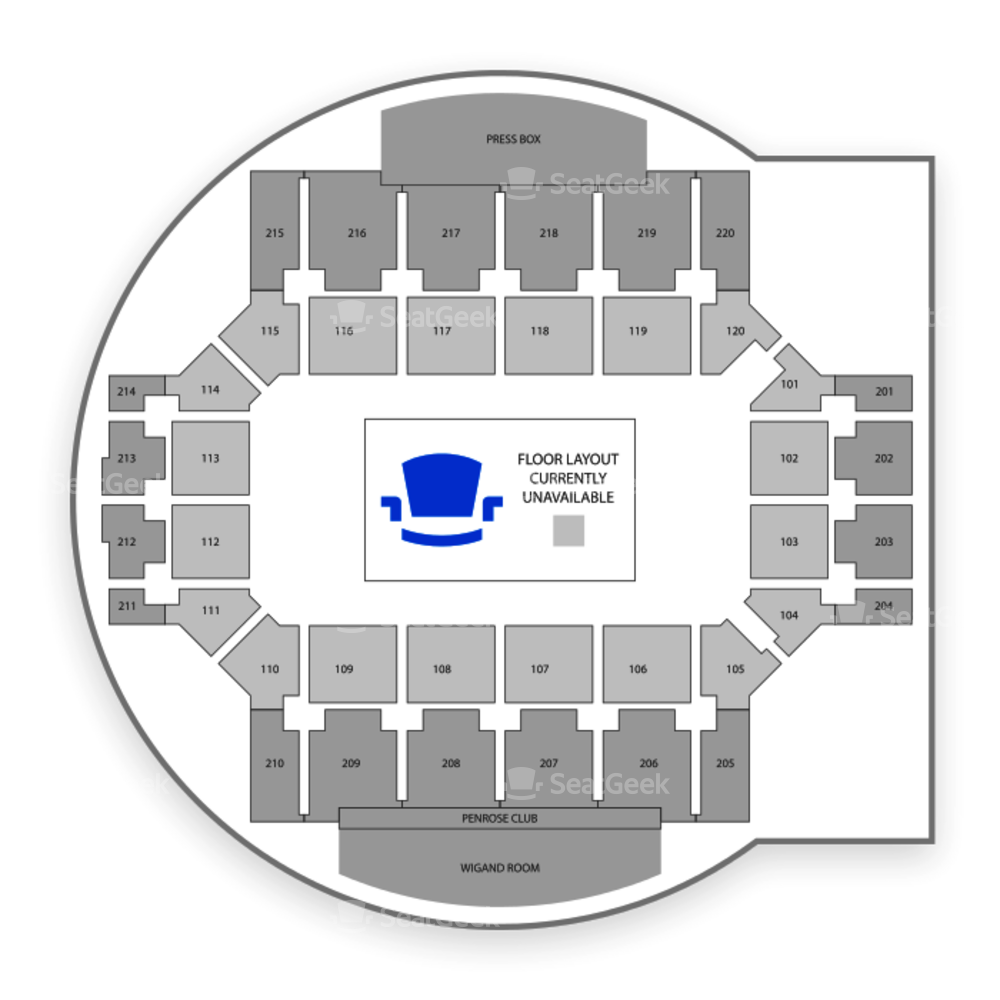 Colorado College Tigers Hockey Seating Chart & Map | SeatGeek