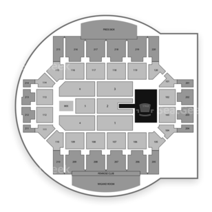 Broadmoor World Arena Seating Chart Concert