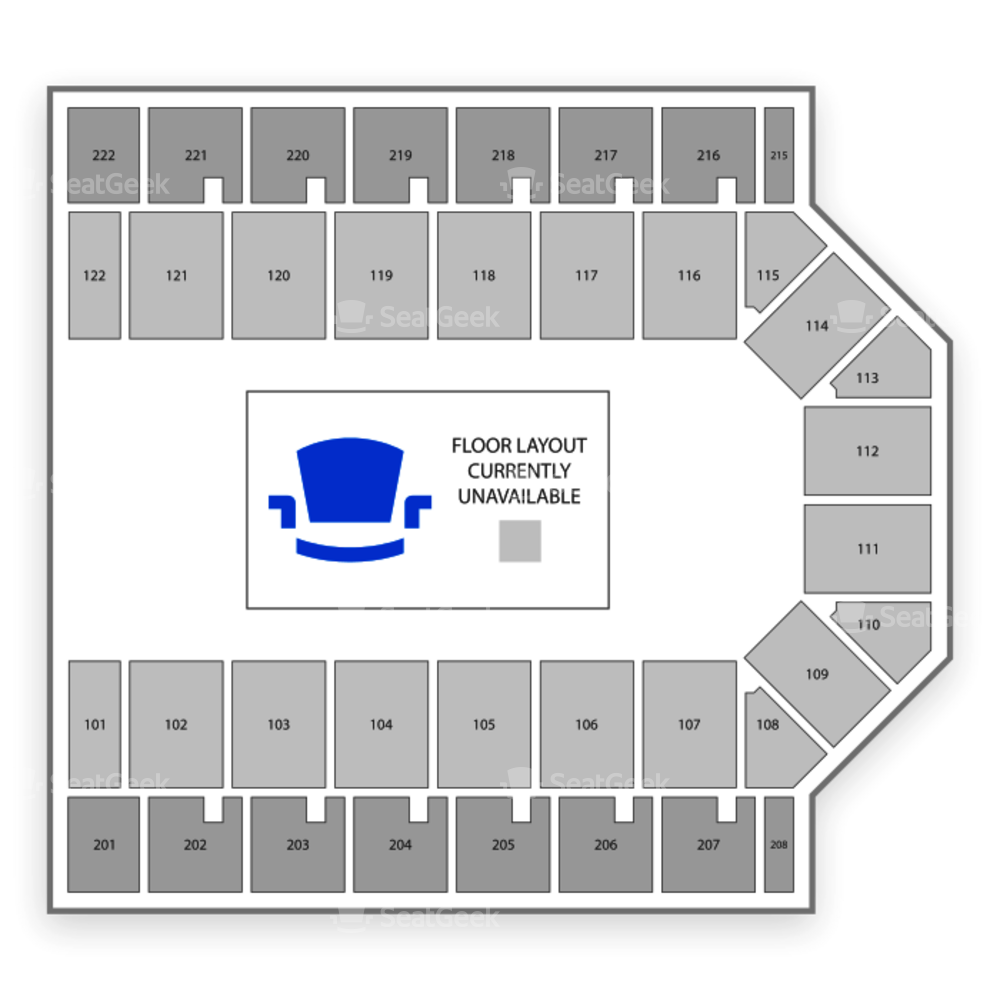 Casper Events Center Seating Chart Theater