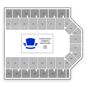 Casper Events Center Seating Chart Concert
