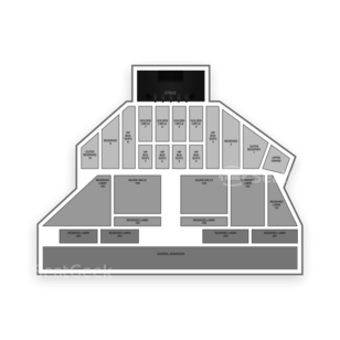 Soo Pass Ranch Seating Chart Concert