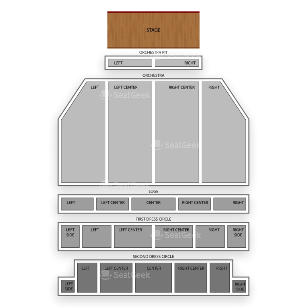 providence performing arts center seating chart interactive seat providence performing arts center seating chart interactive seat map seatgeek