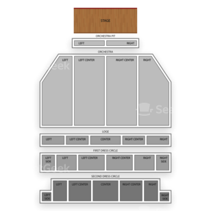 Providence Performing Arts Center Seating Chart Theater
