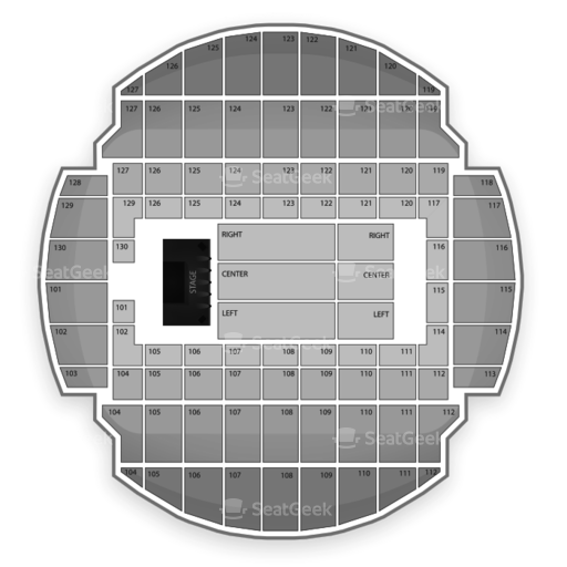 Bojangles Coliseum Seating Chart