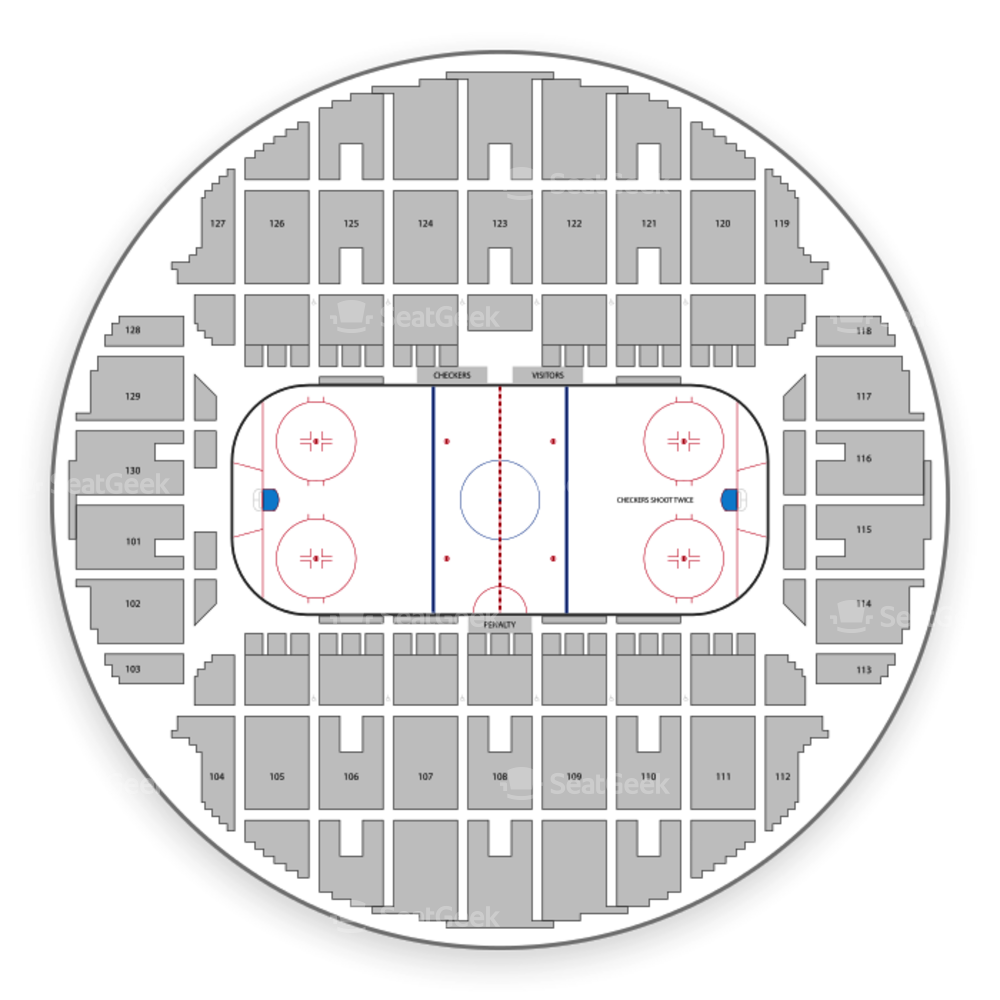 Charlotte Checkers Seating Chart