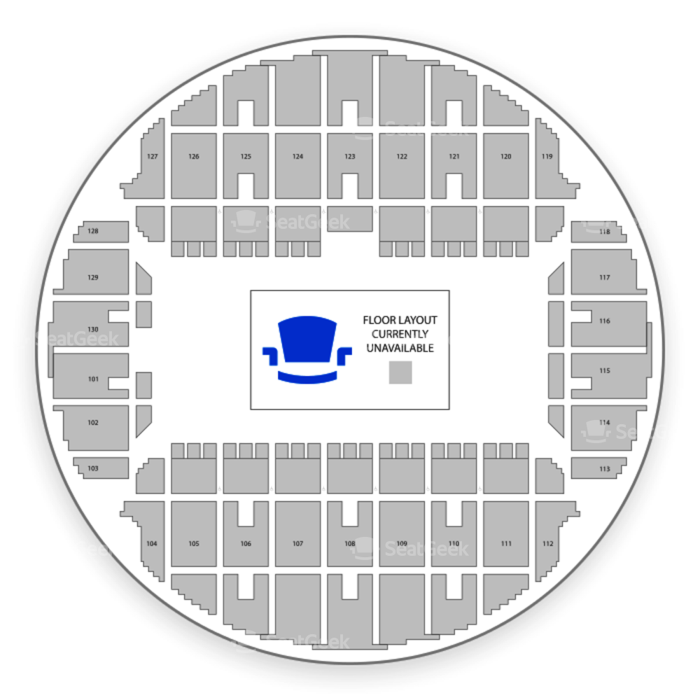 Bojangles' Coliseum Seating Chart Theater