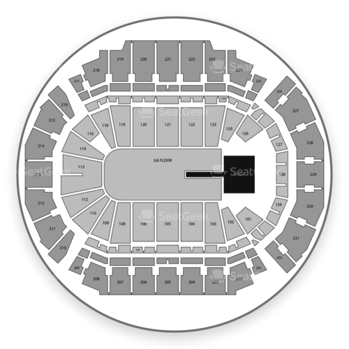 CHI Health Center Omaha Seating Chart Concert